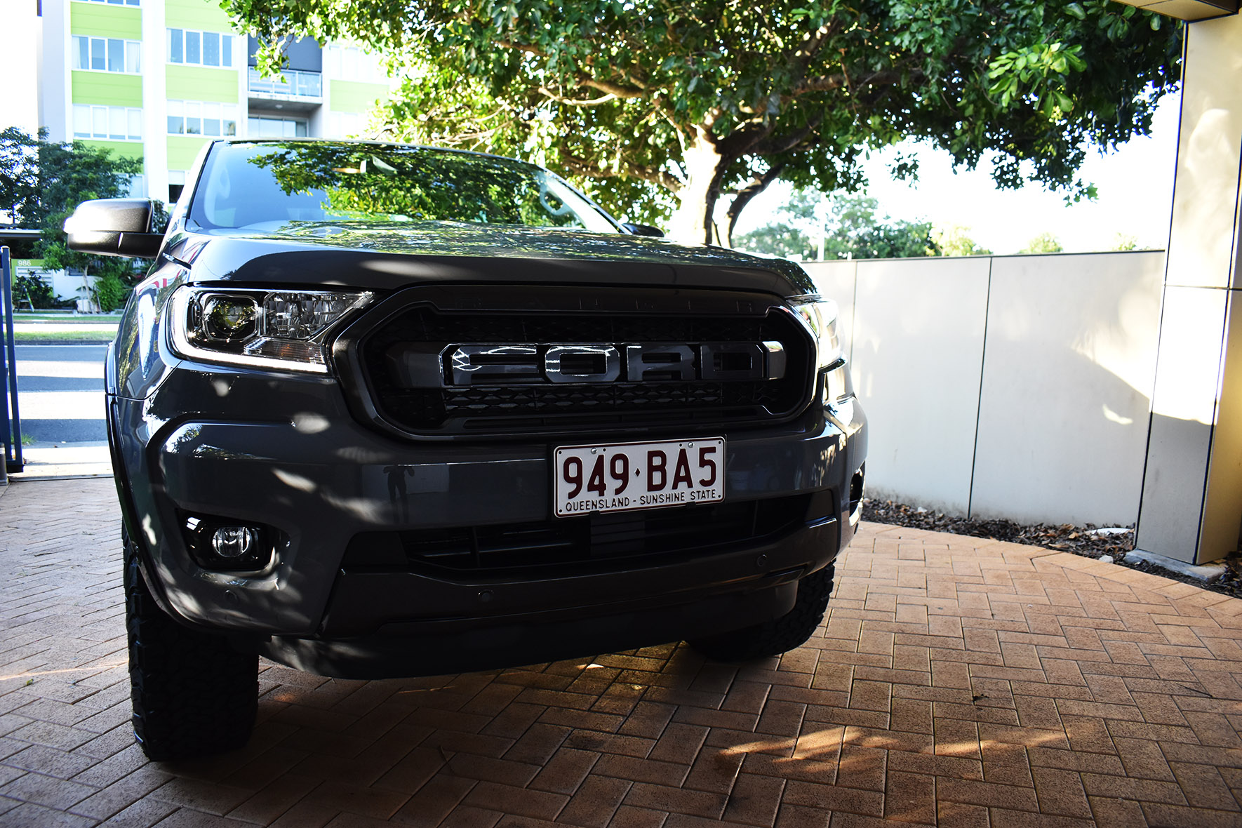 Ford FX4 New Car Paint Protection Ceramic Graphene Protection Brisbane 9