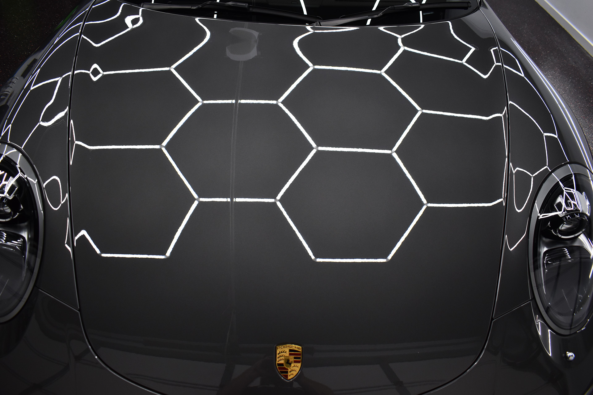Porsche 911 Fireball Ceramic Paint Protection Brisbane 9