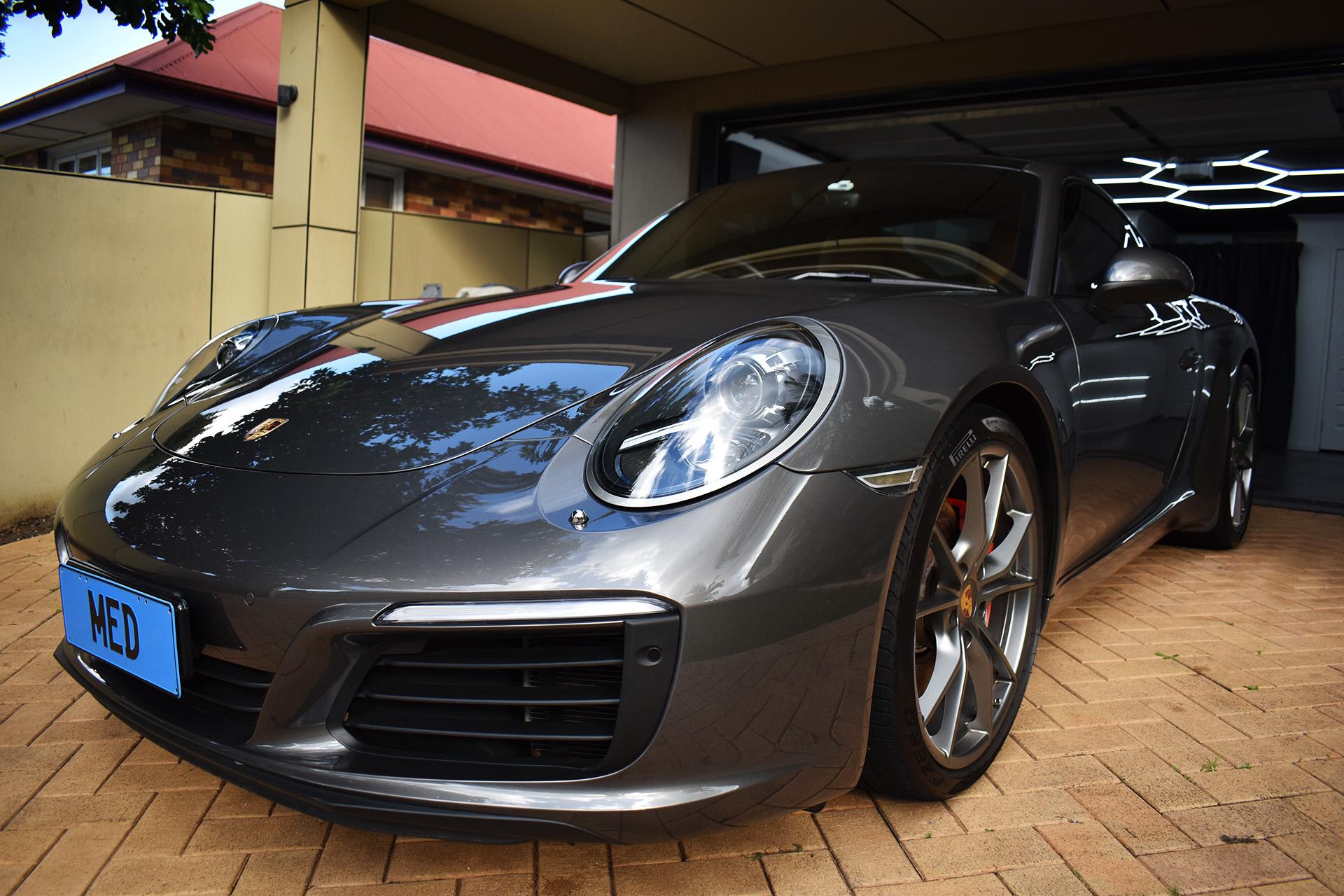Porsche 911 Fireball Ceramic Paint Protection Brisbane 5